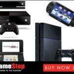 Game Stop Buy Now Game Accessories are shown