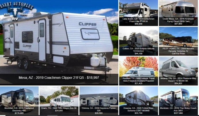 RV Trader Used RVs