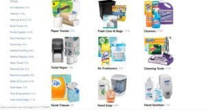 Paper Products & Hand Sanitizer