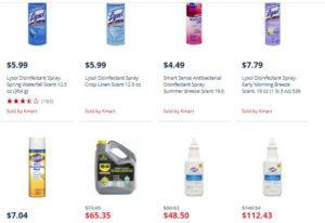 Screen Shot of K-mart Website