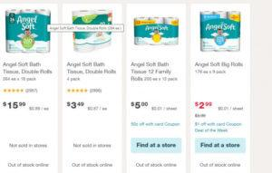 Walgreen Angel Soft