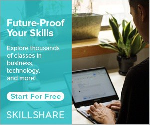 Future-Proof Your Skills Explore thousands of classes in business, technology, and more! Start For Free SkillShare