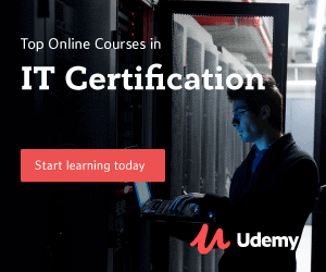 Top Online Courses in IT Certification Start Learning Today U Udemy