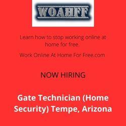 Gate Technician (Home Security) Tempe, Arizona