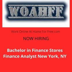 Bachelor in Finance Stores Finance Analyst New York, NY