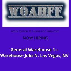 General Warehouse 1 - Warehouse Jobs N. Las Vegas, NV