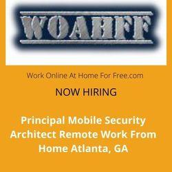 Principal Mobile Security Architect WFH Atlanta, GA