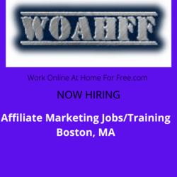 Affiliate Marketing Jobs/Training Boston, MA