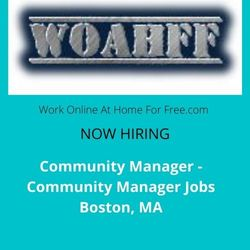 Community Manager - Community Manager Jobs Boston, MA